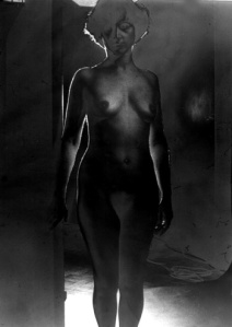 Solarized Nude 1976 by Roger Keen
